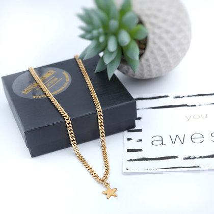 שרשרת ג'יזל | זהב