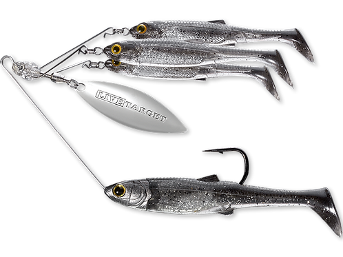 Live Target Baitball Spinner Rig Small 1/4oz Lure