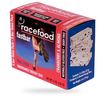 Race Food Fast Bar Cranberry & almond