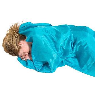 LIFEVENTURE RECTANGULAR SILK SLEEPING BAG LINER
