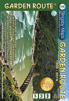 Slingsby Garden Route Map