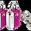 Thumbnail: GO TRAVEL Mini Glo USA Lock Twin Pack