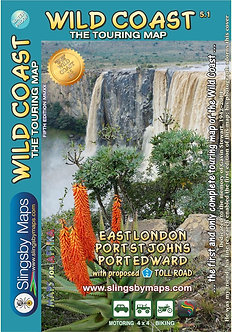 Slingsby The Wild Coast Map