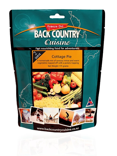 Back Country Cuisine Cottage Pie