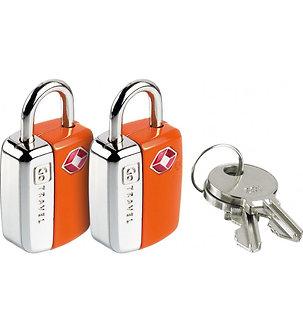 GO TRAVEL Mini Glo USA Lock Twin Pack