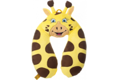 GO TRAVEL Giraffe Neck Pillow Kids
