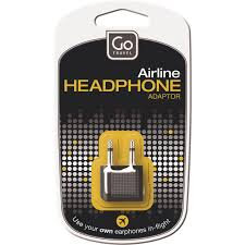 GO TRAVEL Airline Headphone Adaptor