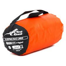 First Ascent Thermolite Sleeping Bag Heating Liner