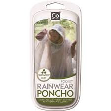 GO TRAVEL Pocket Poncho