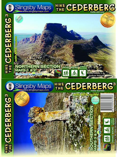 Slingsby Hike the Cederberg Map