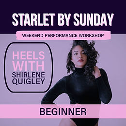 SOLD OUT - Starlet By Sunday: Beginner