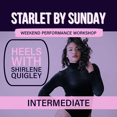 Starlet By Sunday: Intermediate Heels (1)