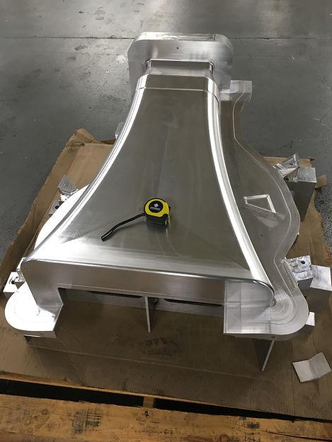 Machined Aluminum Master Mold
