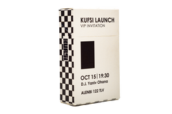 KUFSI LAUNCH for KUFSI Front logo