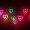 Thumbnail: KUFSI | Heart Diffraction Glasses | white