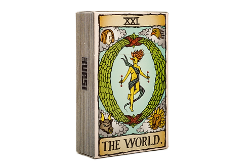 KUFSI | TAROT | THE WORLD | KOBI HAIM | Cigarette Case