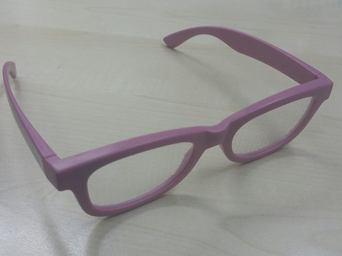 KUFSI | Heart Diffraction Glasses | Pink
