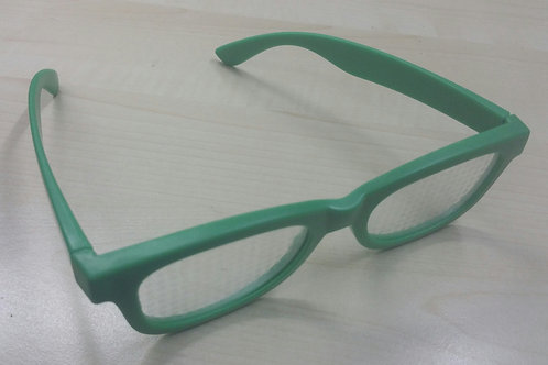 KUFSI | Heart Diffraction Glasses | Green