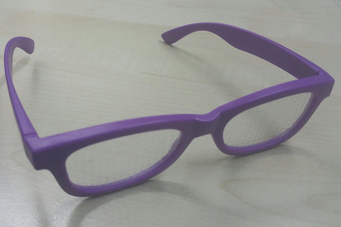 KUFSI | Heart Diffraction Glasses | purple