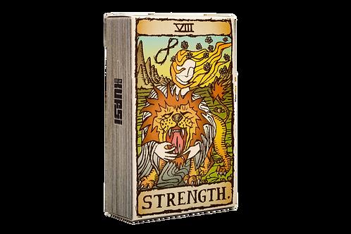 KUFSI | TAROT | STRENGTH | KOBI HAIM | Cigarette Case