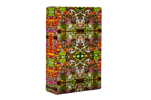 KUFSI | PSYCHEDELIC INDIPINK | PARIS ONE | Cigarette Case
