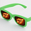 Thumbnail: KUFSI | Heart Diffraction Glasses | Pink