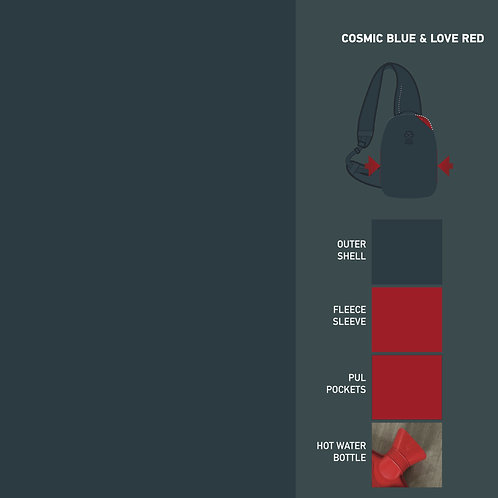 COSMIC BLUE & LOVE RED