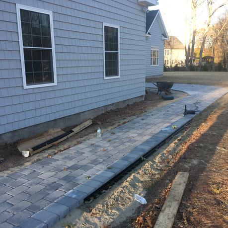 Sidewalk Installation II