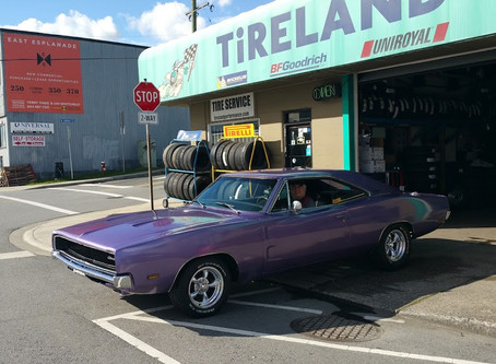 We love vintage vehicles!