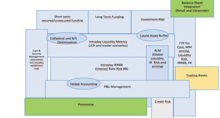 Modern Treasury Functions Topography in a Bank: What to expect