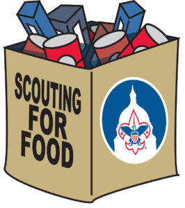 Thank You For Supporting Our Scouting For Food!