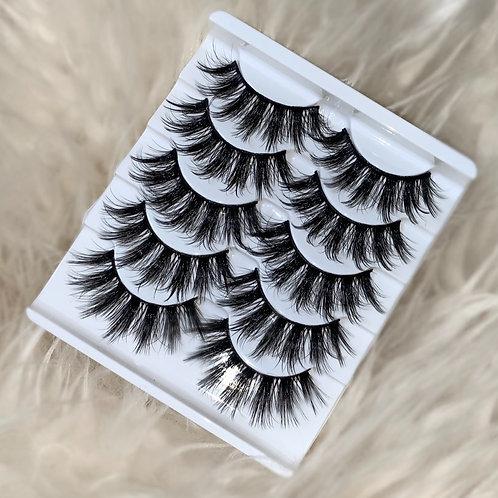 Eyelashes - 5 Pairs (Style 2)