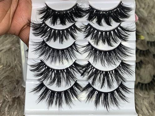 Eyelash - 5 pair Medley (Style1)