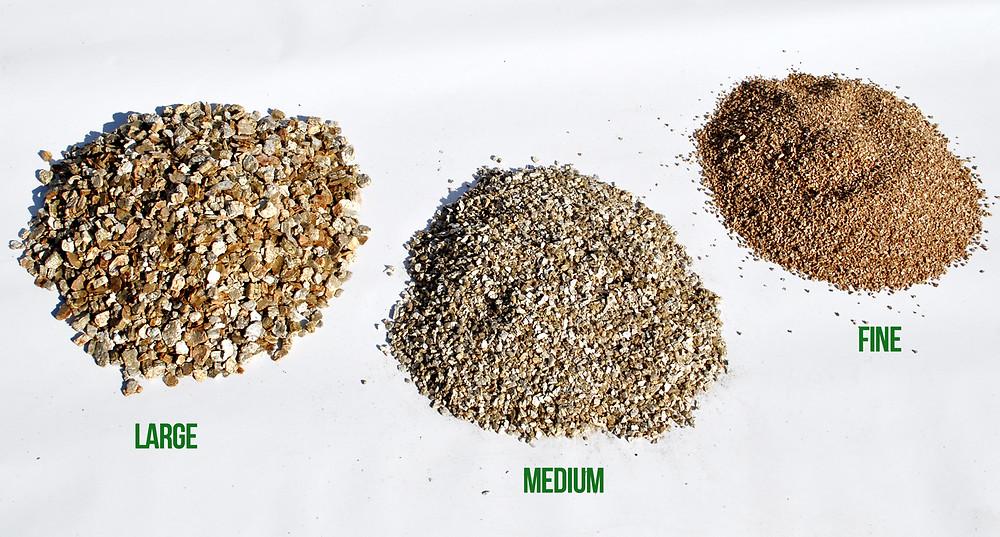 vermiculite sizes