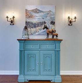 Dusty cabinet