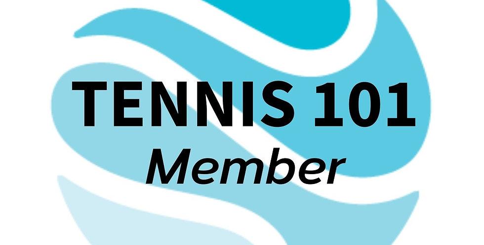 Tennis 101 Member