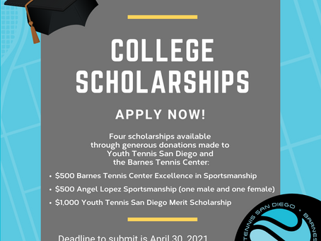 College Scholarship Application now available!
