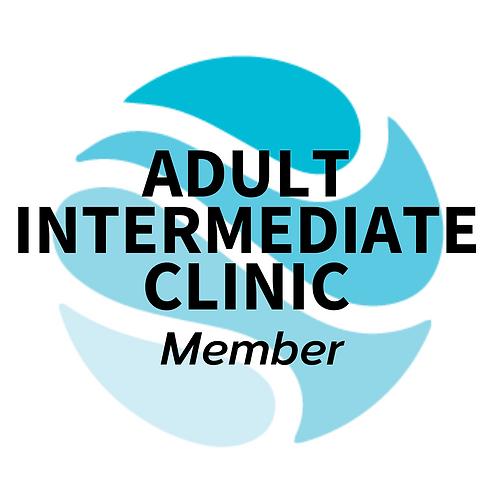 Member Adult Intermediate Clinic