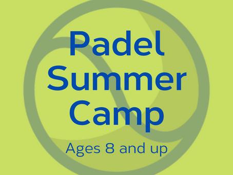 Padel Summer Camp - Register today!