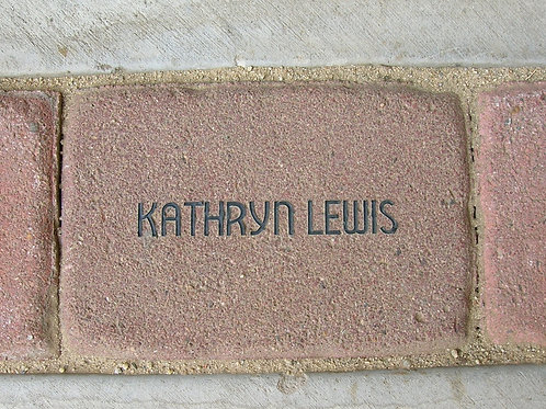 Personalized Paver