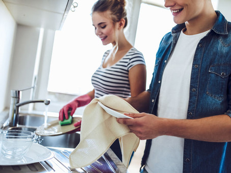 Husbands & Housework:                          It's GOOD For Your Marriage!