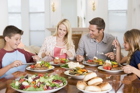 For the Sake of Your Children:  Eat Family Meals Together