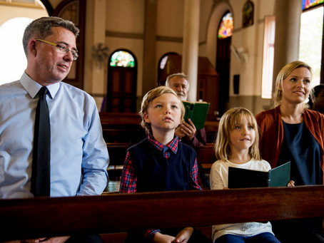 Do This One Thing To Help Your Kids Grow Up To Be Healthy, Happy Adults:  Take Them To Church!