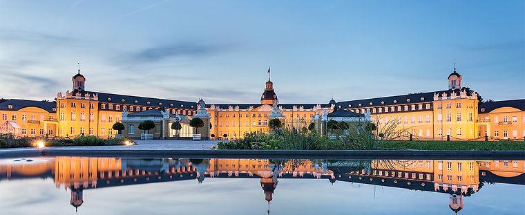 Karlsruhe by night