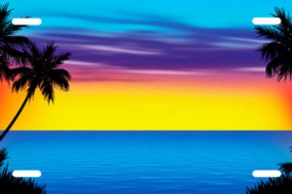 LP0013-Multi-colored Beach