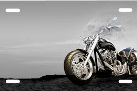 LP00257-Grey Motorcycle