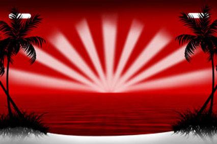 LP00164-Red Starburst Beach