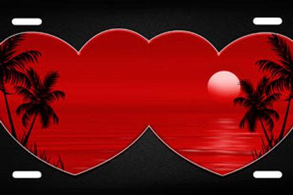 LP00148-Red Heart Beach