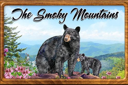RM102-Bear and Cub with frame
