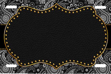 LP00982-Paisley Black